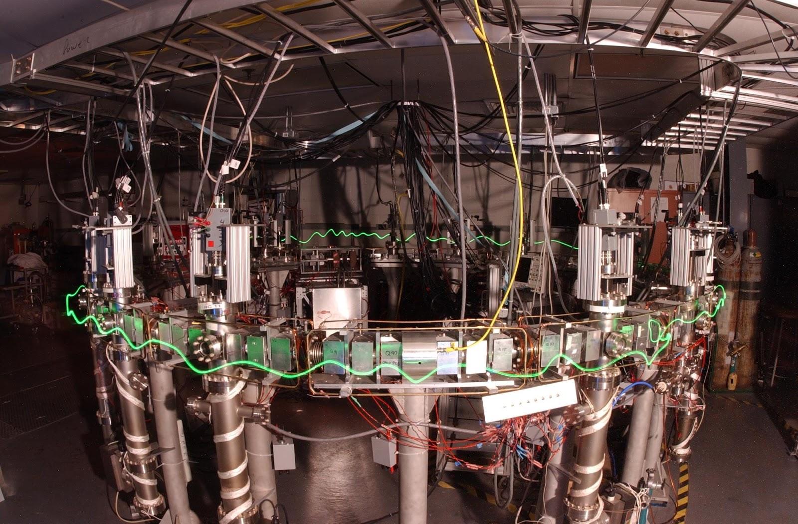 Photo of UMER (UMD electron ring)